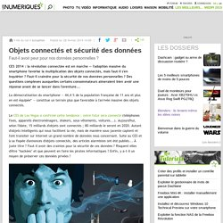 Objets connectés et sécurité des données
