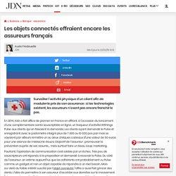 Les objets connectés effraient encore les assureurs français