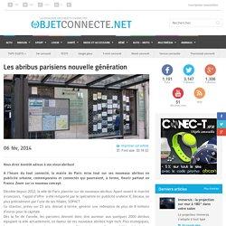 Les abribus connectes à Paris: tendance nouvelle génération