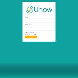 Connectez-vous à Unow MOOC