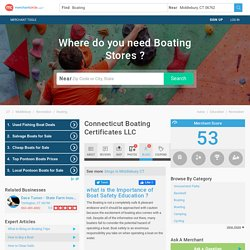 Connecticut Boating Certificates LLC in Middlebury, CT 06762