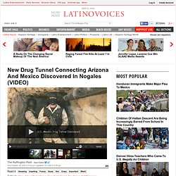 New Drug Tunnel Connecting Arizona And Mexico Discovered In Nogales