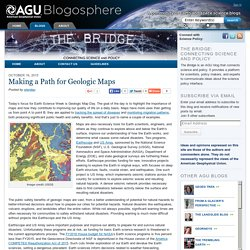 Making a Path for Geologic Maps - The Bridge: Connecting Science and Policy - AGU Blogosphere