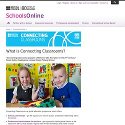 Connecting Classrooms | British Council Schools Online