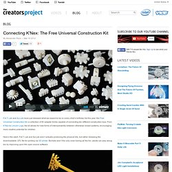 Connecting K'Nex: The Free Universal Construction Kit