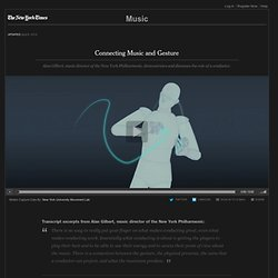 Connecting Music and Gesture - Interactive Feature