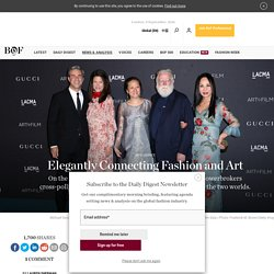 Elegantly Connecting Fashion and Art