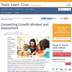 Connecting Growth Mindset and Assessment