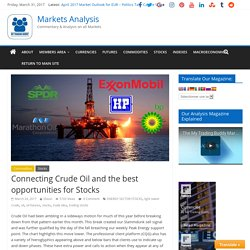 Connecting Crude Oil and the best opportunities for Stocks - Markets Analysis
