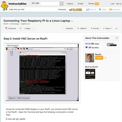 Connecting Your Raspberry Pi to a Linux Laptop - 2