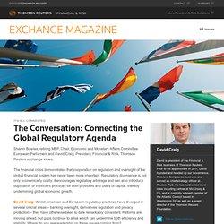 Connecting Global Regulatory Agenda