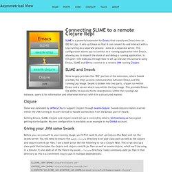 remote slime repl