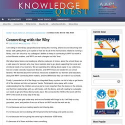 Connecting with the Why