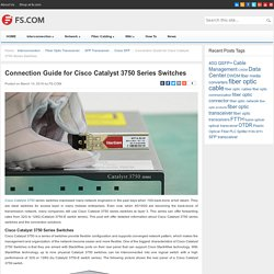 Connection Guide for Cisco Catalyst 3750 Series Switches - Blog Of FS.COMBlog Of FS.COM