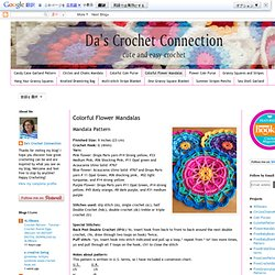 Colorful Flower Mandalas