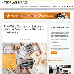 The Weird Connection Between Website Templates and Business Intelligence
