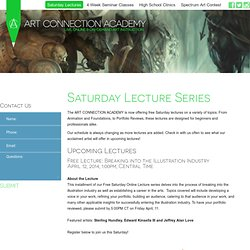 The Art Connection Academy - Saturday Lectures