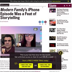 "Modern Family iPhone Episode: ""Connection Lost"" and Storytelling"