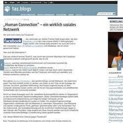 """""""Human Connection"""" – ein wirklich soziales Netzwerk"""