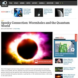 Spooky Connection: Wormholes and the Quantum World