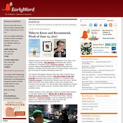 EarlyWord: The Publisher | Librarian Connection