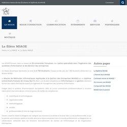 La filière MIAGE - (Master de Méthodes Informatiques Appliquées à la Gestion des Entreprises)