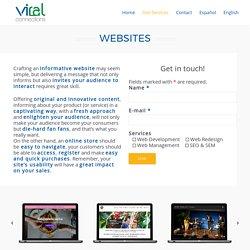 Viral Connections - Website Development