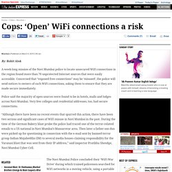 Cops: 'Open' WiFi connections a risk