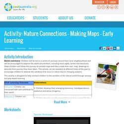 Nature Connections - Making Maps - Early Learning - Cool Australia