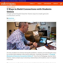 How to Build Connections with Students Online