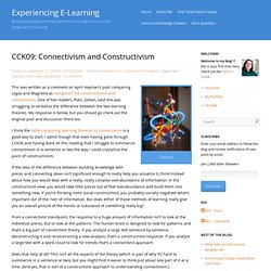 CCK09: Connectivism and Constructivism
