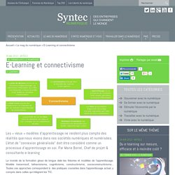 E-Learning et connectivisme