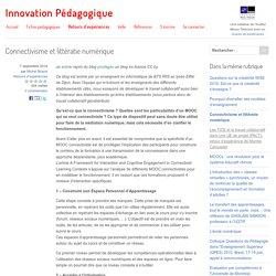 Connectivisme et littératie numérique