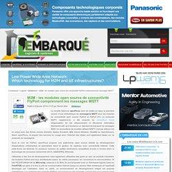 M2M : les modules open source de connectivité FlyPort comprennent les messages MQTT – L'Embarqué