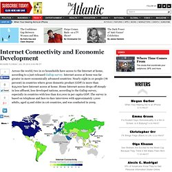 Internet Connectivity and Economic Development - Science and Tech