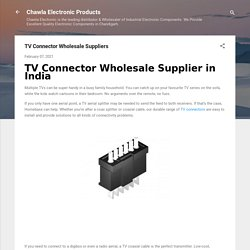 TV Connector Wholesale Suppliers