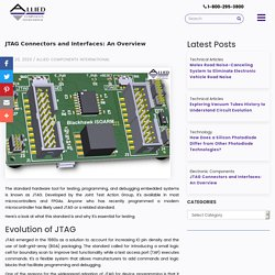 JTAG Connectors and Interfaces: An Overview