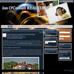 Jon O'Connell REALTOR® - Find an Advisor to Acquire Any New Real Estate