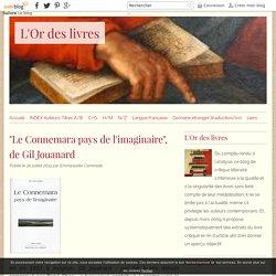 """""""Le Connemara pays de l'imaginaire"""", de Gil Jouanard - L'Or des livres"""