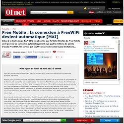 Free Mobile : la connexion à FreeWiFi devient automatique