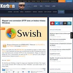 Mapper une connexion SFTP avec un lecteur réseau Windows