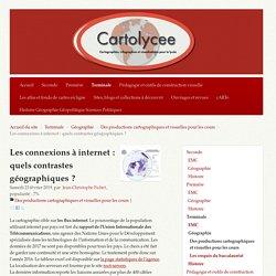 Les connexions à internet : quels contrastes géographiques ?