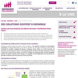 Des solutions existent à Grenoble