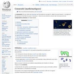 Connexité (mathématiques)