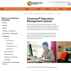 Connections Academy's Online Learning Platform
