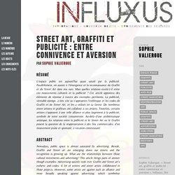 Street art, graffiti et publicité : entre connivence et aversion - Numéros - Jeunesse et appropriation de l'espace public - Influxus