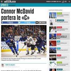 Connor McDavid portera le «C»
