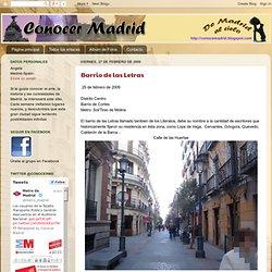 Conocer Madrid: febrero 2009
