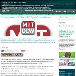 Conocimiento STEAM: MIT OpenCourseWare