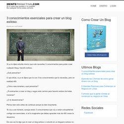 Como hacer un blog exitoso